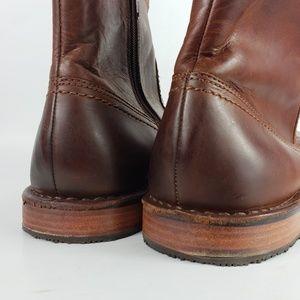 839390a366c Sebago Shoes | Mens Metro Zip Boot 12d Brown Leather 195 | Poshmark